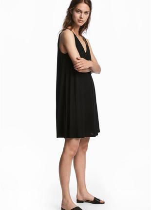 Трикотажное свободное платье h&m
