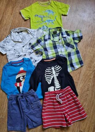 Пакет летних вещей мальчику на рост 80-86