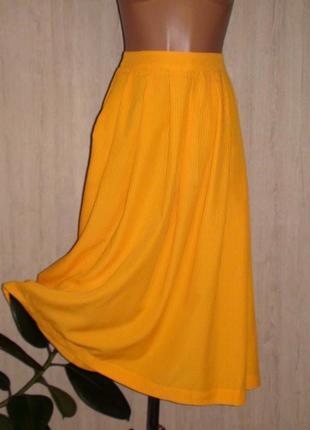 Оранжевая юбка topshop