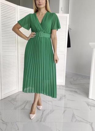Шифоновое платье италия
