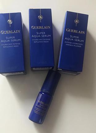 Новый super aqua serum guerlain 5 мл сыворотка для лица