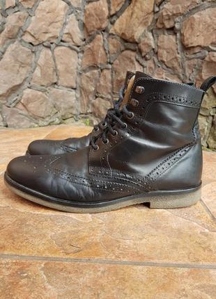 Чоловічі туфлі броги оксфорд geox оригінал з європи