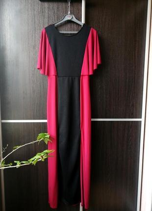 Шикарное, длинное оригинальное стильное новое платье сукня. chie london