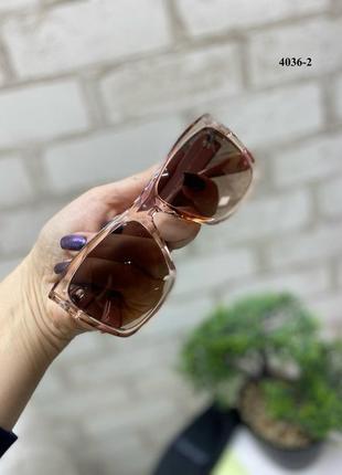 Новые пудровые солнцезащитные очки