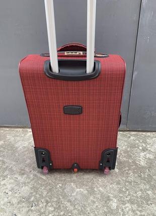 Sale! чемодан дорожный большой, тканевый дорожный большой чемодан, валіза дорожня велика5 фото