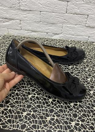 Туфли лакированная кожа gabor
