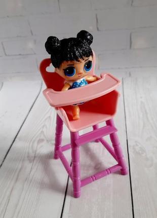 Ляльковий стільчик для годування simba для маленьких ляльок