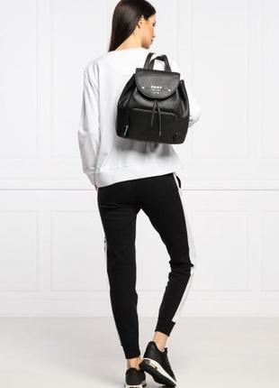 Рюкзак кожаный dkny thompson erin backpack r01kag96 оригинал