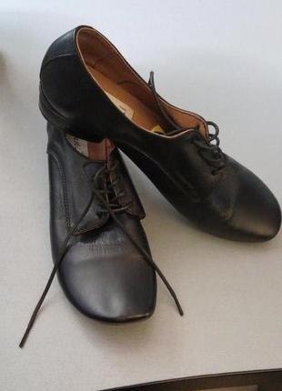 Кожаные туфли prestige, новые, дешево