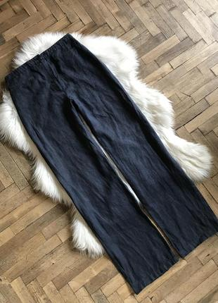 Супервинтажные льняные брюки h&m