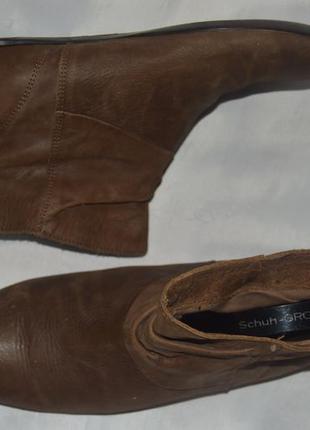 Черевики челсі шкіра bronx розмір 39 38, ботинки кожа