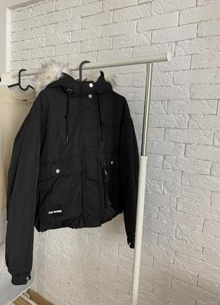 Куртка парка bershka