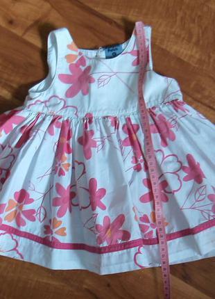 Нарядное платье на малышку (6-18 мес.)