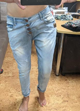 Классные джинсы бойфренд, недорого