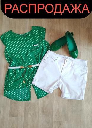 Комплект блуза+шорты only,балетки(лодочки)