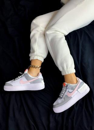 Женские кроссовки низкие кожа air force 1