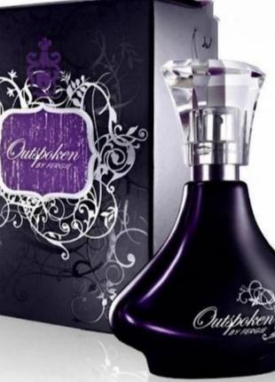 Outspoken by fergie раритет парфюм  вода пробник духи.