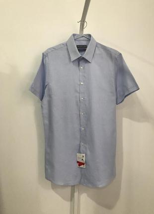Рубашка s 37-38 c&a slim fit