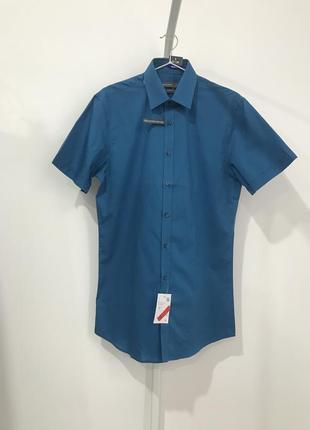 Рубашка s 37-38 р. c&a slim fit