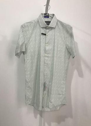 Рубашка s 37/38 c&a slim fit