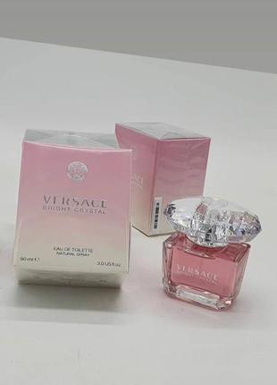 Versace bright crystal 90 ml туалетная вода
