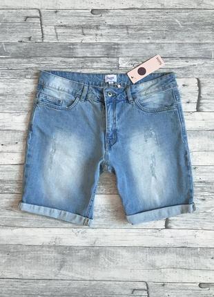Мужские джинсовые шорты saint tropez