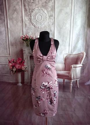 Стильное платье сарафан хлопок