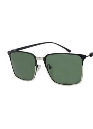 Солнечные очки sumwin c1 квадратные с зелеными линзами с поляризацией