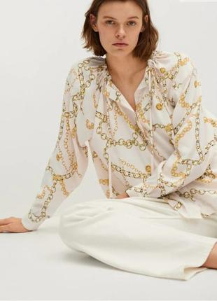 Блуза, рубашка mango