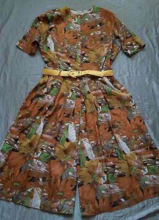 Костюм винтаж 90-е шорты кюлоты бермуды