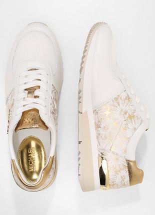 Білі літні кросівки michael kors allie