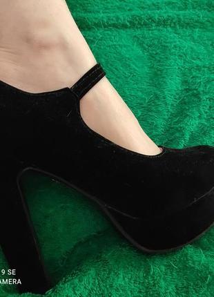 Туфли замшевые в отличном состоянии