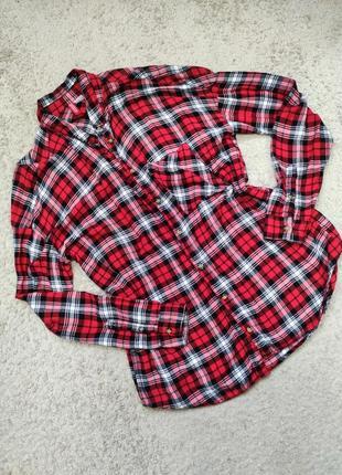 Подовжена мягесенька  рубашка
