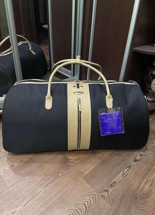 Большая дорожная сумка кожа samsonite лимитированная коллекция оригинал