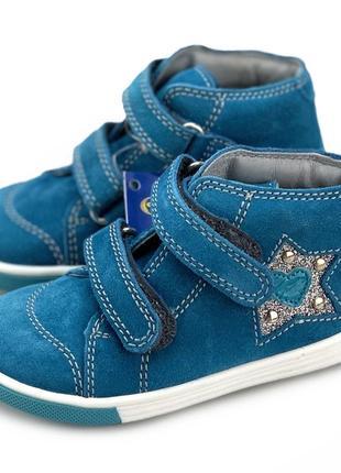Кожаные ботинки девочке richter (австрия)