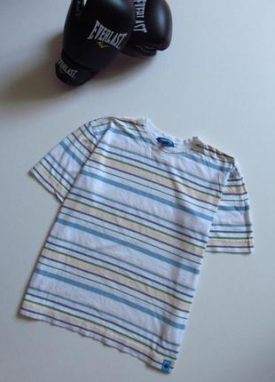 Мужская футболка в полоску/ состояние отличное/ 100 % хлопок