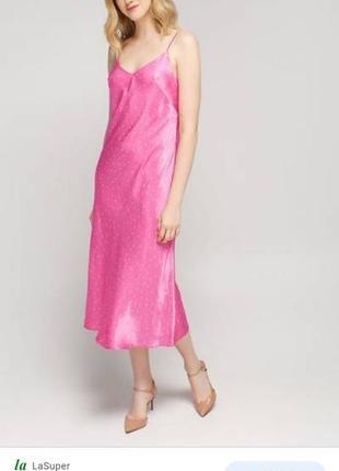 Платье в бельевом стиле must have  как шелк, атлас, вискоза