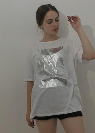 Біла футболка mickey mouse zara&disne2 фото