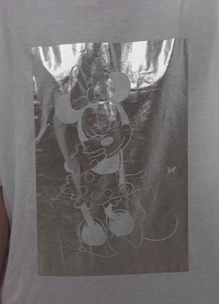 Біла футболка mickey mouse zara&disne3 фото