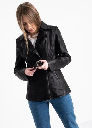 Кожаная куртка - косуха. с-2хл