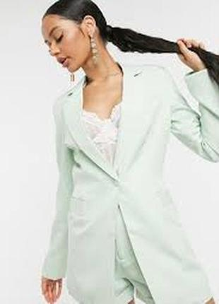 Летний пиджак жакет блейзер из  натуральной ткани