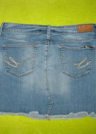 Летняя джинсовая юбка   colins