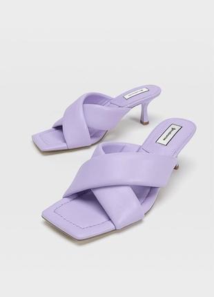 Новые сандалии stradivarius