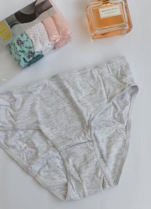Цветные трусики bikini размер xs, s 6-8 набор 4 шт, primark