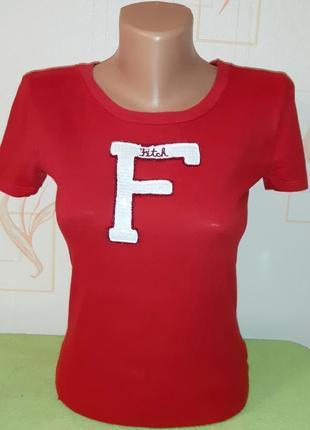 Стильная футболка abercrombie &fitch, made in cambodia, 💯 оригинал, молниеносная отправка 🚀⚡