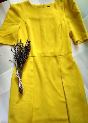 Платье жёлтое river island eur 34