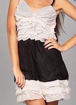 Шёлковое бредовое платье