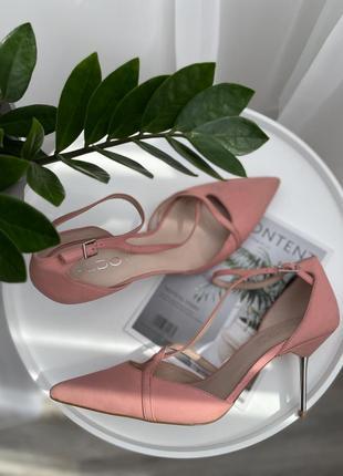 🌿41🌿 европа🇪🇺aldo. кожа. классные фирменные туфли