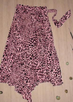 Плиссированная юбка toрshop с ассиметричным низом