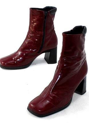 Ботинки 37,5 p gabor германия кожа оригинал демисезон